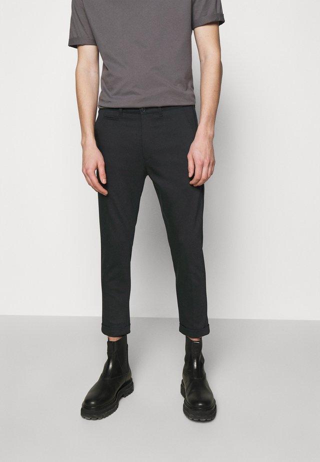 KREW - Pantalon classique - black