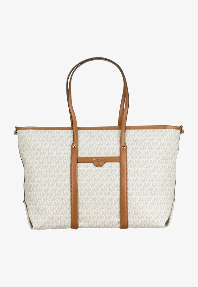 TOTE - Tote bag - vanilla/acorn