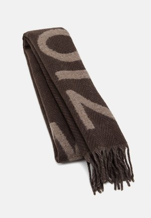 BAMBINO CHECK - Scarf - brown