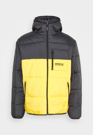 PUFFER - Giacca invernale - black/active gold