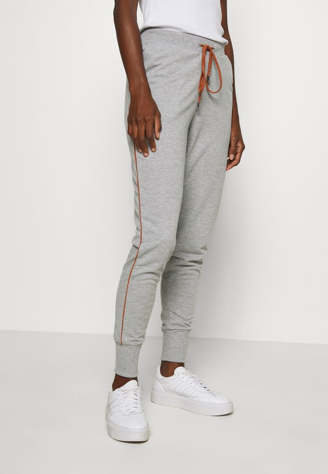 KAMARKY PANTS - Tracksuit bottoms - grey/melange