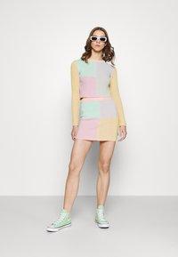 The Ragged Priest - ROUTE SKIRT - Mini skirt - multi stripe - 1