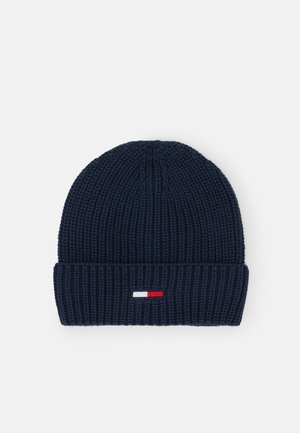 BASIC FLAG BEANIE UNISEX - Huer - blue