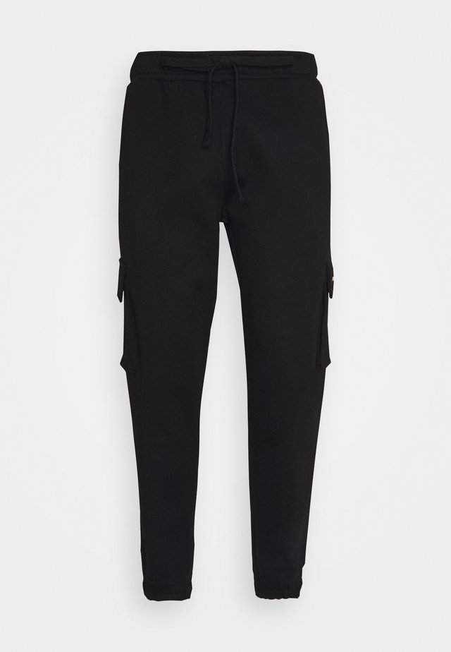 IDAHO HEAVY UTILITY PANTS UNISEX - Cargobroek - black