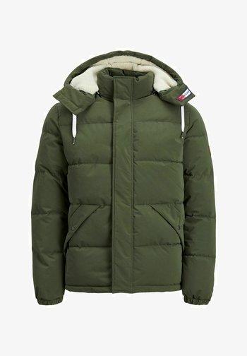 JJEFDEY PUFFER - Winter jacket - forest night