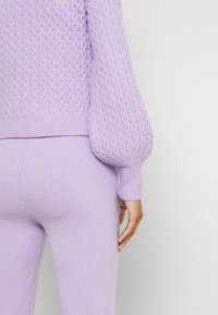 Missguided - TEXTURED JUMPER AND JOGGER SET - Jumper - lilac - 4