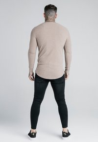 SIKSILK - LONG SLEEVE BRUSHED JUMPER - Strikpullover /Striktrøjer - beige - 2