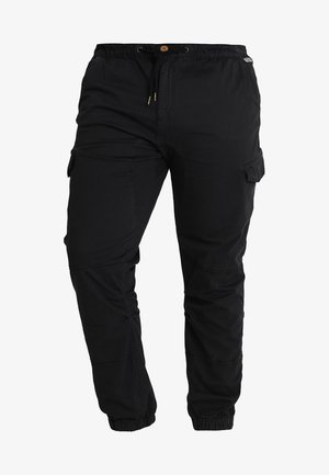 LEVI PLUS - Cargo trousers - black