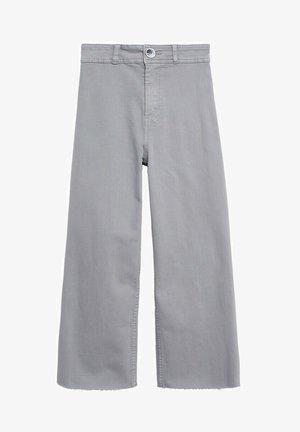 Bootcut jeans - gris denim