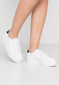 No Name - PLATO - Sneakers laag - white/black - 0