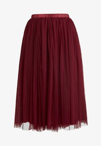 Lace & Beads - VAL SKIRT - A-Linien-Rock - burgundy - 4