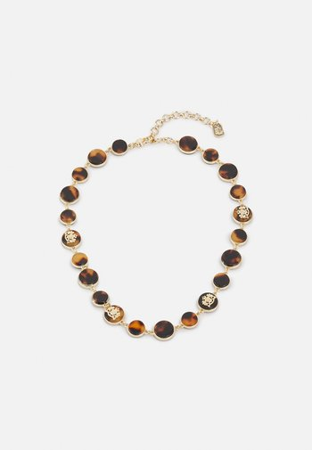 CREST COLLAR - Necklace - gold-coloured/tort
