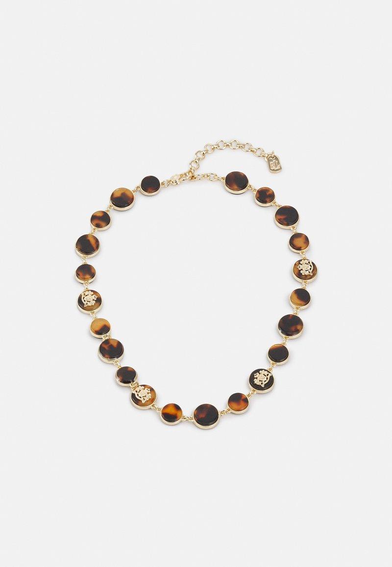 Lauren Ralph Lauren - CREST COLLAR - Necklace - gold-coloured/tort
