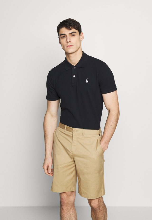 SHORT SLEEVE - Treningsskjorter - black