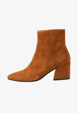 OLIVIA - Classic ankle boots - caramel