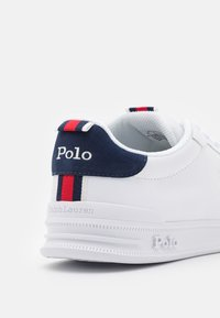 Polo Ralph Lauren - HERITAGE COURT UNISEX - Trainers - white/navy/red - 5