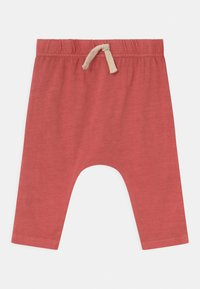 Cotton On - ANDERS 3 PACK UNISEX - Trousers - noir grape/burnt squash/red brick - 2