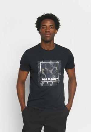 GRAPHIC - T-shirt z nadrukiem - black