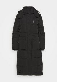 Superdry - LONGLINE EVEREST COAT - Winter coat - black - 5