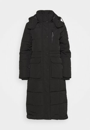 LONGLINE EVEREST COAT - Winter coat - black