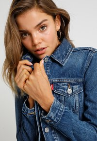 Levi's® - ORIGINAL TRUCKER - Denim jacket - soft as butter dark - 3
