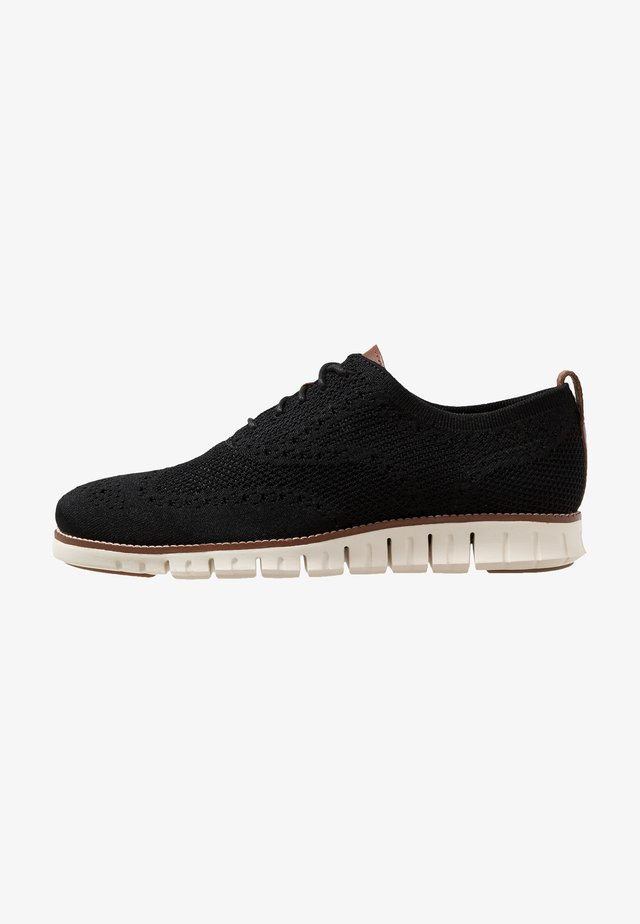 STITCHLITE OXFORD - Casual lace-ups - black/ivory