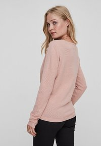 Vero Moda - VMCARE STRUCTURE O NECK - Jumper - misty rose - 1