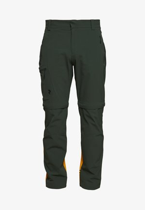 VISLIGHT ZIP OFF PANT - Trousers - drift green