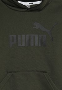 Puma - LOGO HOODY  - Felpa con cappuccio - forest night - 3