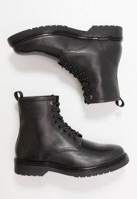 Trussardi Jeans - Snørestøvletter - black - 1