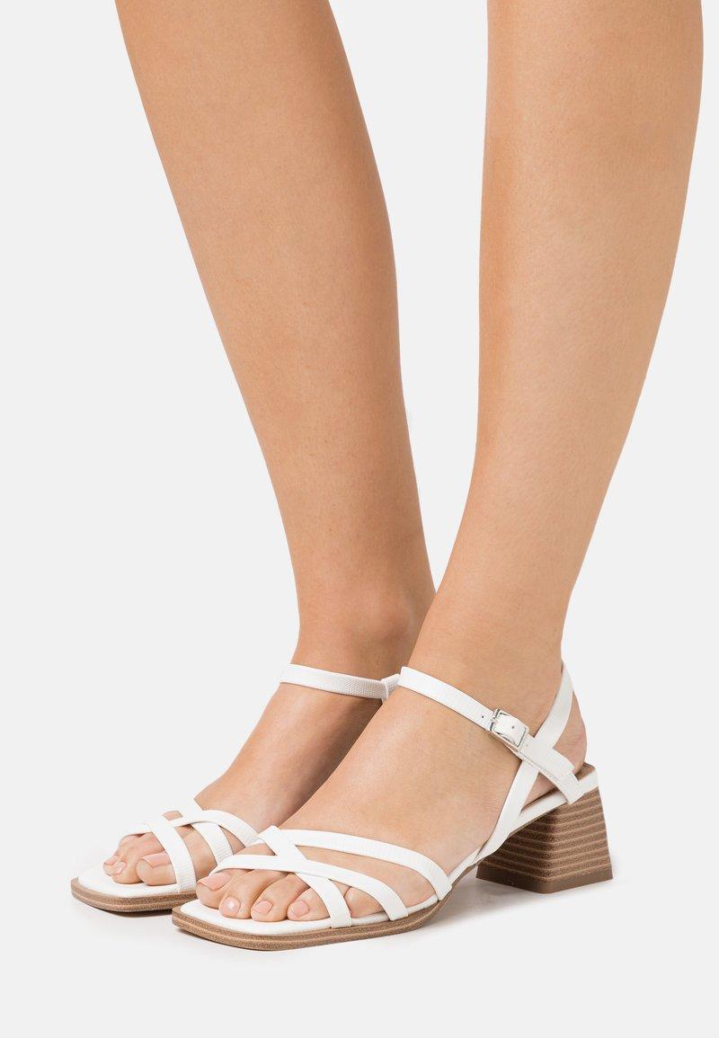 Topshop - DIVINE BLOCK - Sandales - white