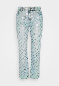 KARL LAGERFELD - TETRIS - Straight leg jeans - blue denim - 0
