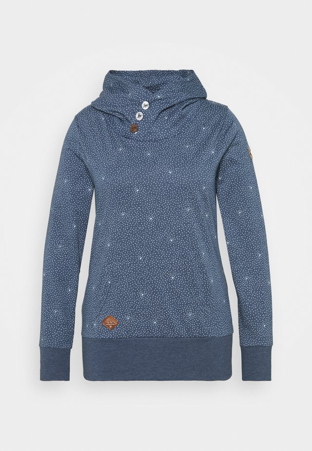 CHELSEA DOTS - Sweater - indigo