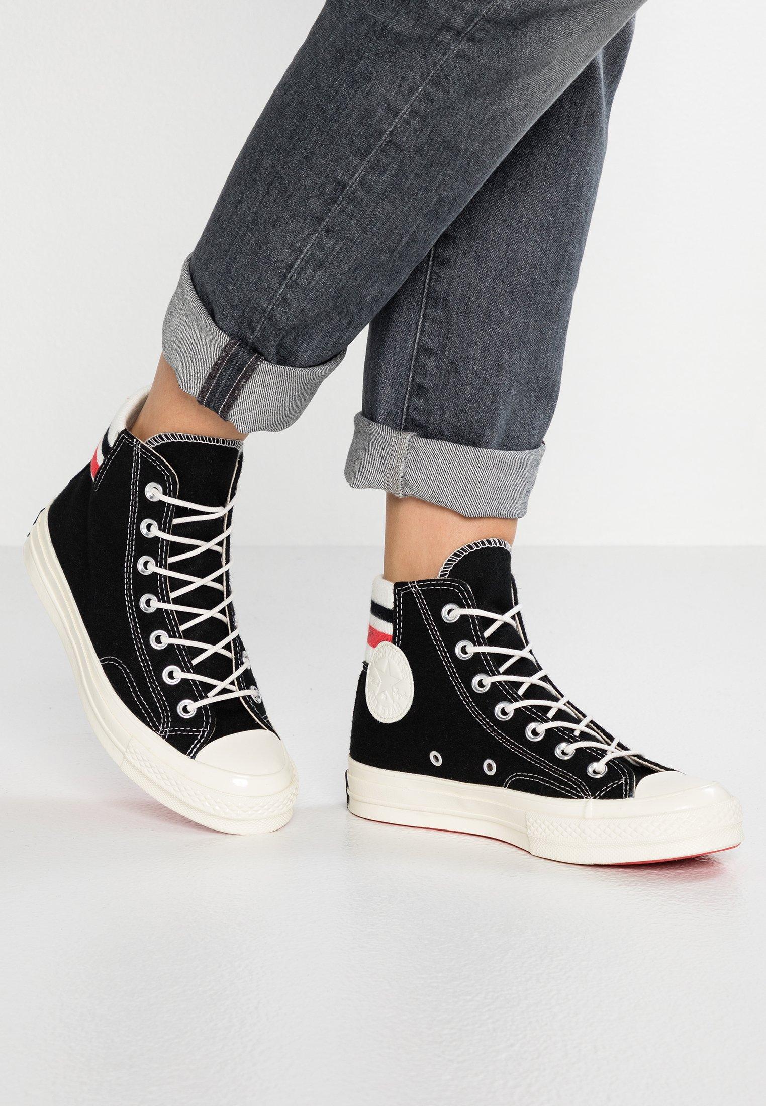 CHUCK 70 - Sneakers hoog - black/sedona red/egret