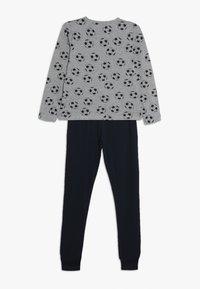 Name it - NKMNIGHTSET FOOTBALL - Pyjama set - grey melange - 1