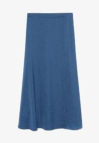 Mango - SICILIA - Maxi skirt - bleu - 0