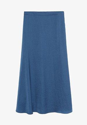 SICILIA - Maxi skirt - bleu