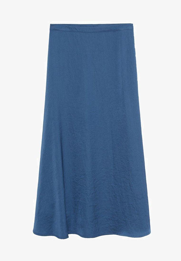 Mango - SICILIA - Maxi skirt - bleu