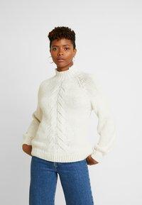 ONLY - ONLFREYAH - Pullover - whitecap gray - 0