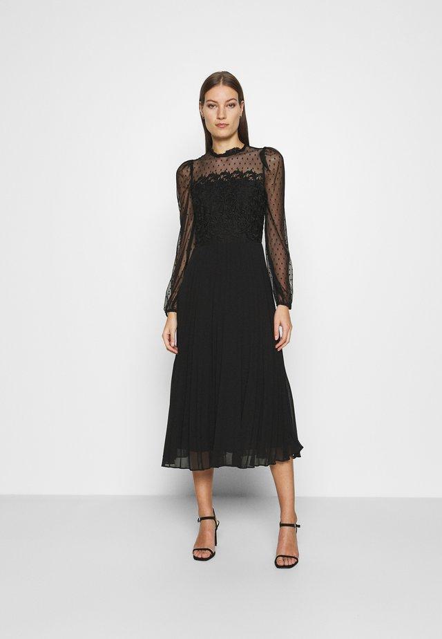 MIX - Cocktailklänning - black