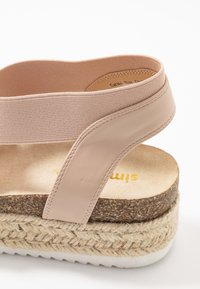 Simply Be - WIDE FIT DELAWARE - Loafers - nude - 2
