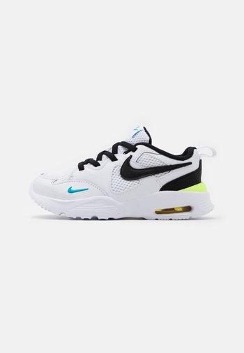 AIR MAX FUSION UNISEX - Sneakers laag - white/black/oracle aqua/pollen rise