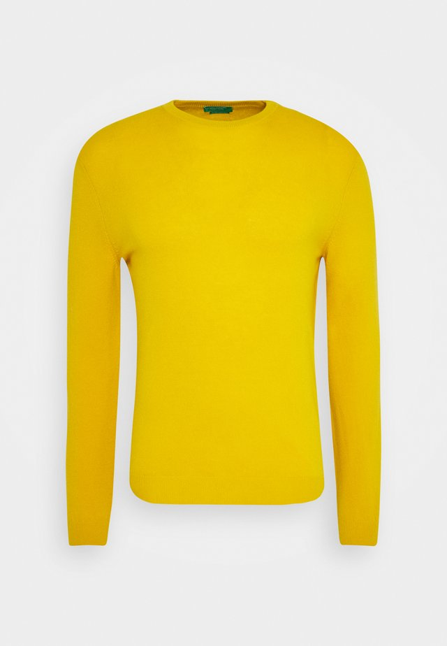 BASIC CREWNECK - Sweter - ocra
