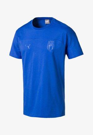 FIGC MEN'S TEE MÄNNER - T-shirt print - blue