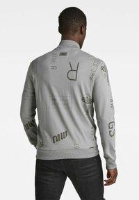 G-Star - EXTREME ALLOVER BASEBALL TWEETER - Zip-up hoodie - grey - 1