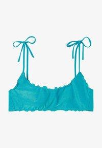 Calzedonia - Bikini top - paradise blue shine - 2