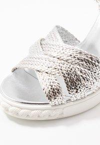 Casadei - High heeled sandals - argento - 2