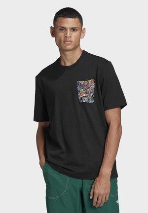 ADV MUNCHMAN T ADVENTURE ORIGINALS REGULAR T-SHIRT - Print T-shirt - black