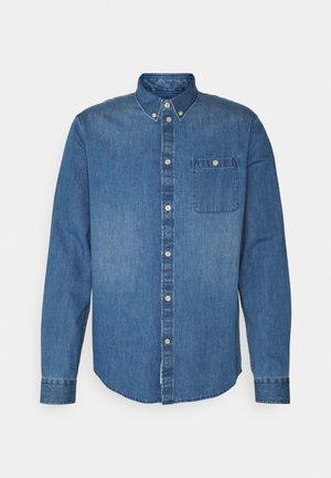 DENIM SHIRT - Shirt - blue denim