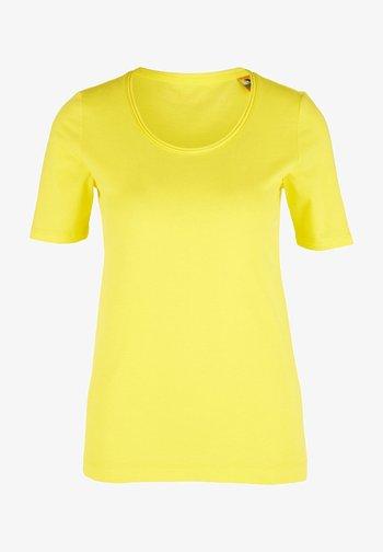 Basic T-shirt - yellow